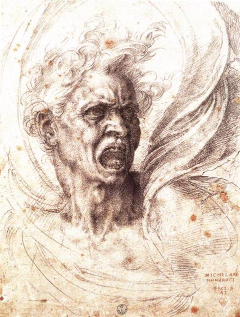 Michelangelo_The_Damned_Soul